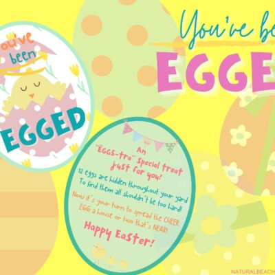 You've Been Egged Kindness Printables and Easter Activities
