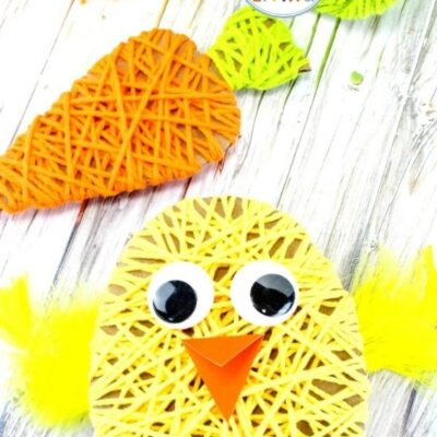 Easy Easter Crafts for Kids – Yarn Crafts for Kids