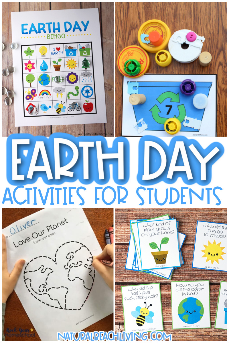 Over 35 Earth Day Activities for Students, Kids of all ages can enjoy these Earth Day activities that inspire children to make a difference. Pollution Activities, Free Earth Day Activities to Celebrate Earth Day, Earth Day Printables, Recyclable Crafts and so much more.