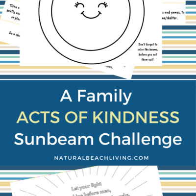 Family Acts of Kindness Sunbeam Challenge