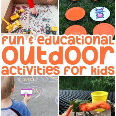 42+ Outdoor Activities for Kids