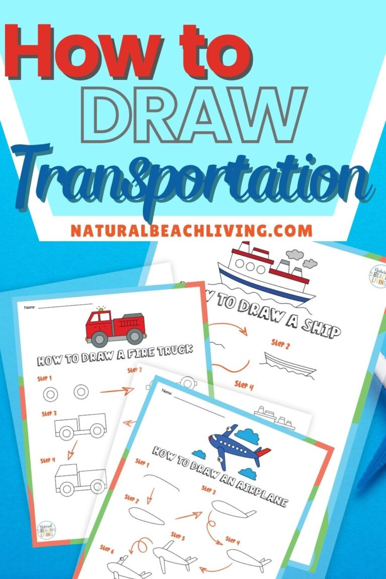 How to Draw Transportation Theme