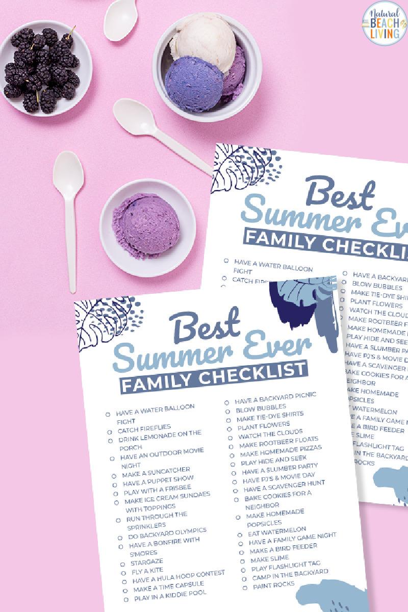 Best Summer Bucket List for Families