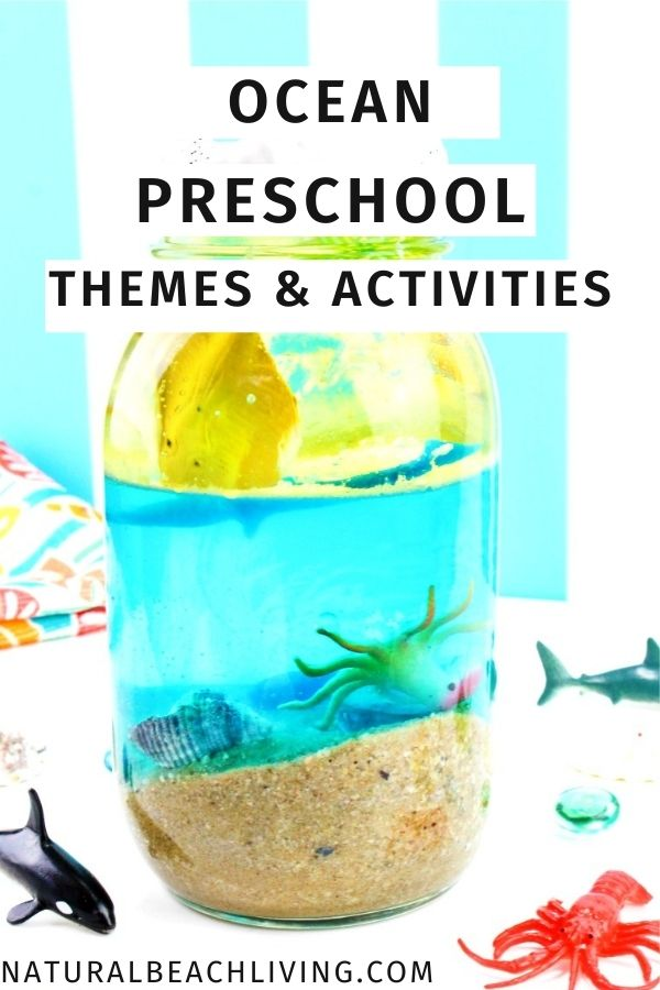 If you are planning an Ocean Preschool Theme or gathering ideas for your Ocean Lesson Plans everything you need is HERE. From learning about the ocean for preschoolers, ocean theme preschool worksheets, ocean zones for kids, ocean activities for preschoolers, ocean science experiments and so much more