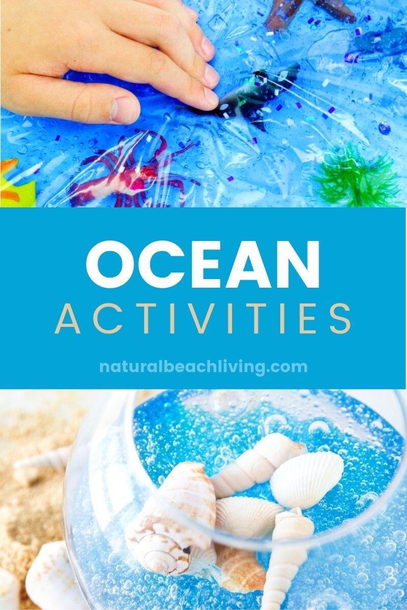 Ocean Preschool Theme – Lesson Plans and Activities