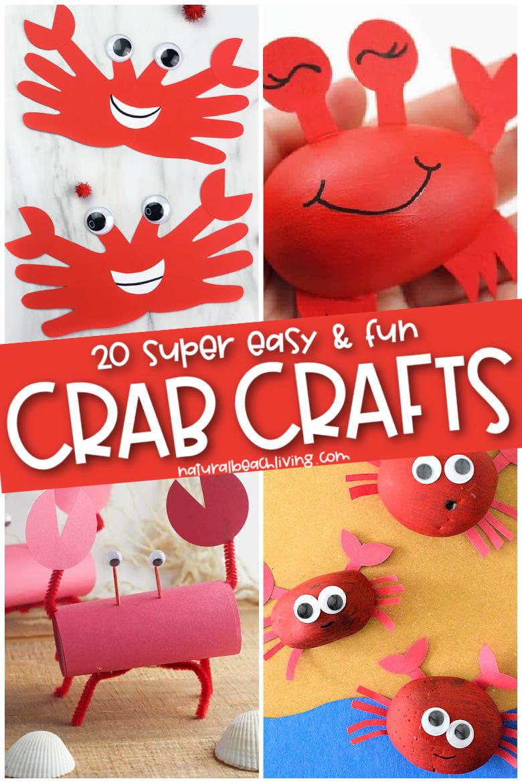 20+ Cute Crab Preschool Crafts