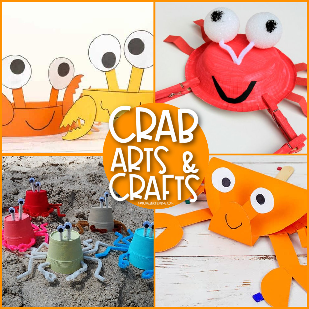 From cupcake liner crabs to paper plate crabs, paper crab crafts for preschoolers and even crabs made out of seashells, there's something to do all summer long. Get started on one of these fun crab preschool crafts today