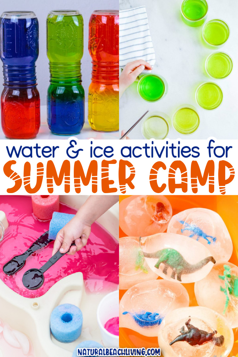 Water and Ice Summer Camp Activities