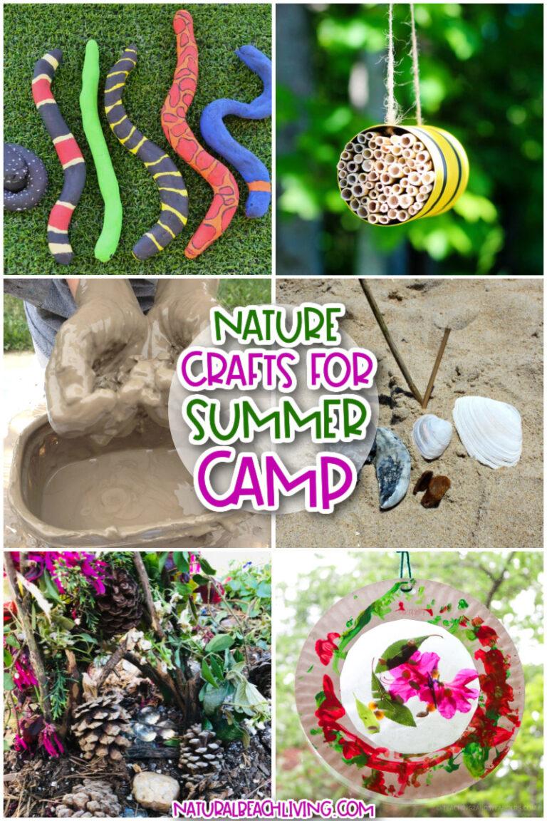 Nature Summer Camp Theme Activities