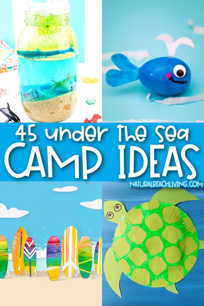 45+ Ocean Summer Camp Theme Activities
