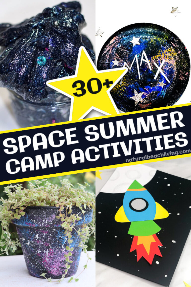 30+ Space Summer Camp Theme Activities