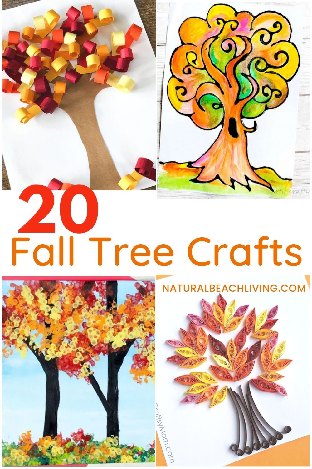 20 gorgeous fall tree craft ideas for kids. From a tree made with painted puzzle pieces to 3D autumn trees that pop off the page, these fall tree crafts are sure to delight kids of all ages. Preschool arts and crafts ideas for the entire fall season