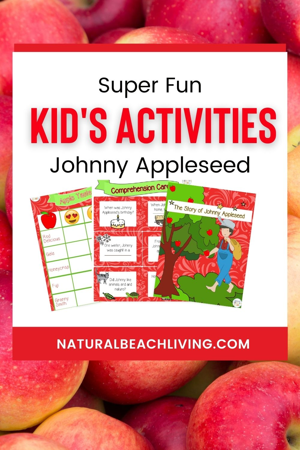 Discover the BEST ways to Celebrate Johnny Appleseed Day with your kids at home and in the classroom, over 40 Johnny Appleseed Day activities, and Johnny Appleseed Day Crafts for preschool, kindergarten, and elementary children