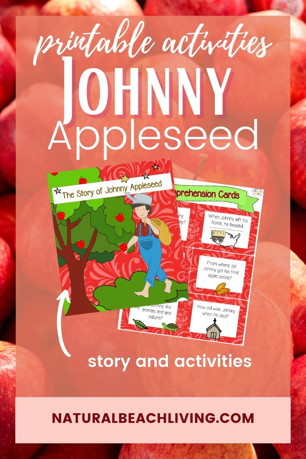 Johnny Appleseed Printable Activities and Craft