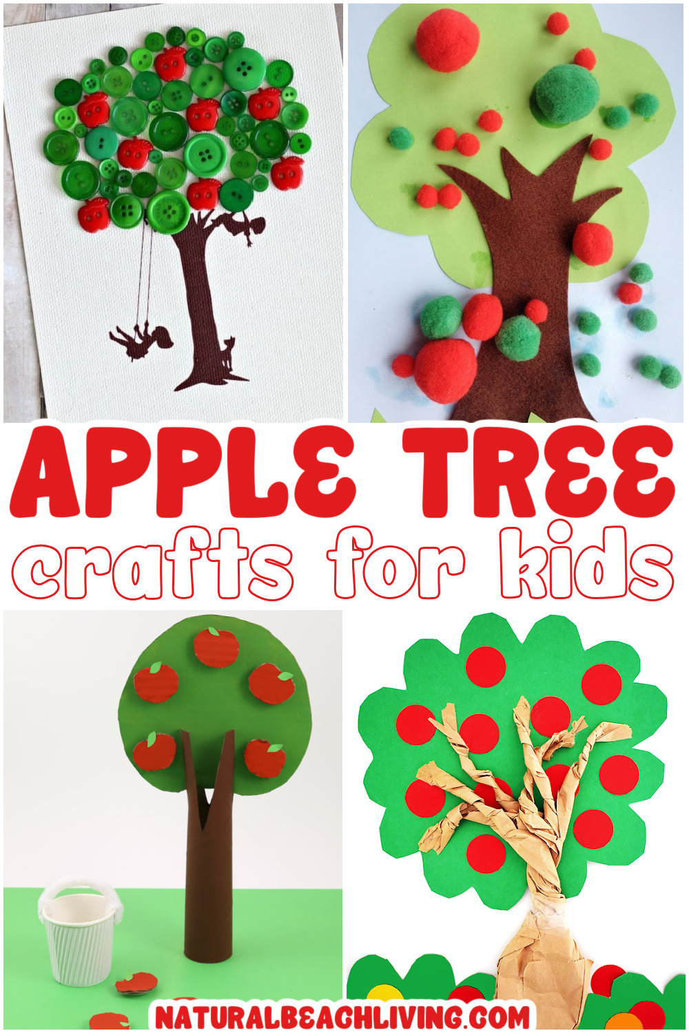 16 Apple Tree Crafts for Kids