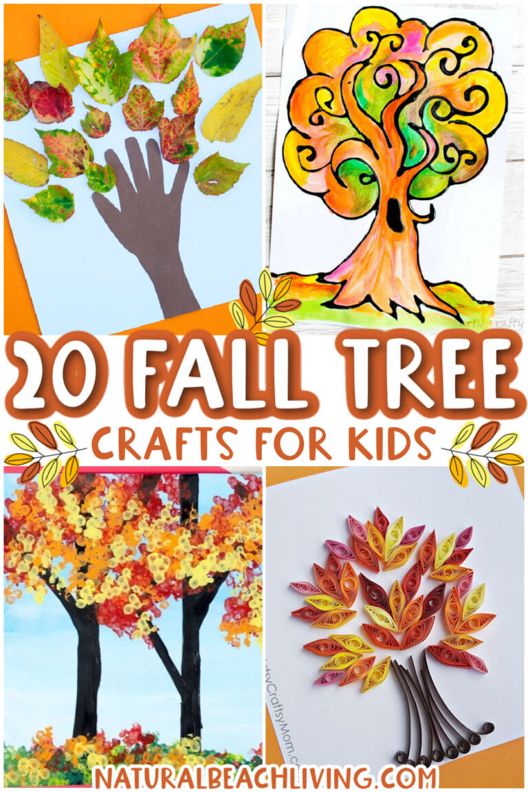 20+ Fall Tree Crafts for Kids