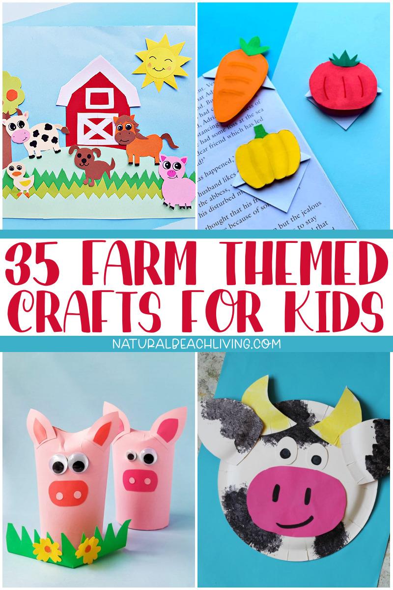 36 Adorable Farm Theme Preschool Crafts and Activities