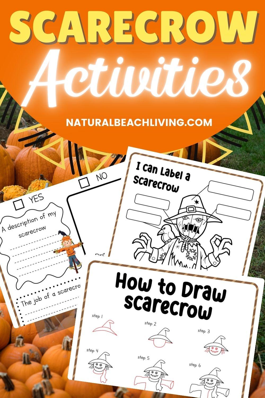 Free Scarecrow Printable Activities