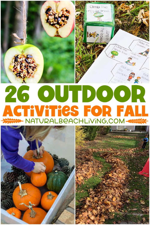 26+ Fall Outdoor Activities for Kids